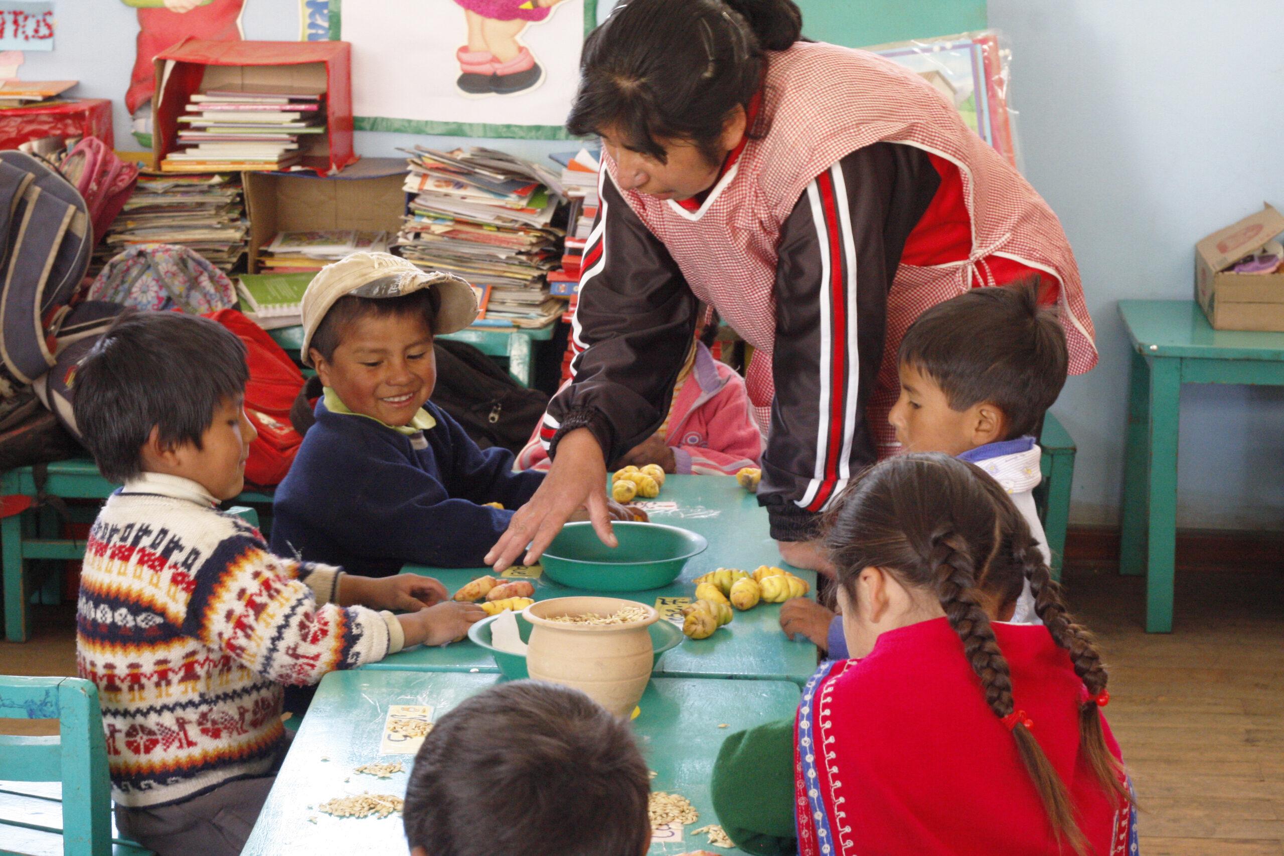 GNO0455_Anbau von Obst und Gemüste_Plan International_Bild stammt aus einem ähnlichen Plan-Projekt in Peru_Bild1